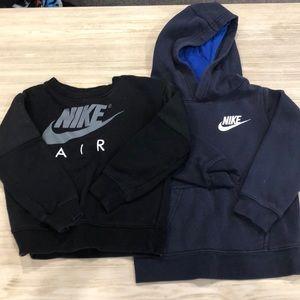Nike 4t sweat shirts